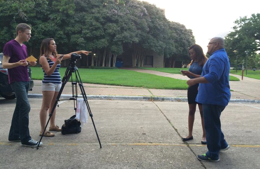 Latino students create their own opportunities in journalism school due to lack of opportunities.